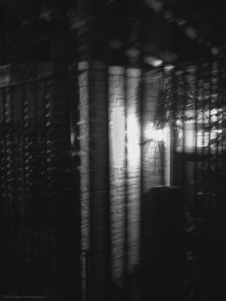 greenwich village black and white