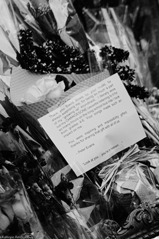 nyc david bowie memorial
