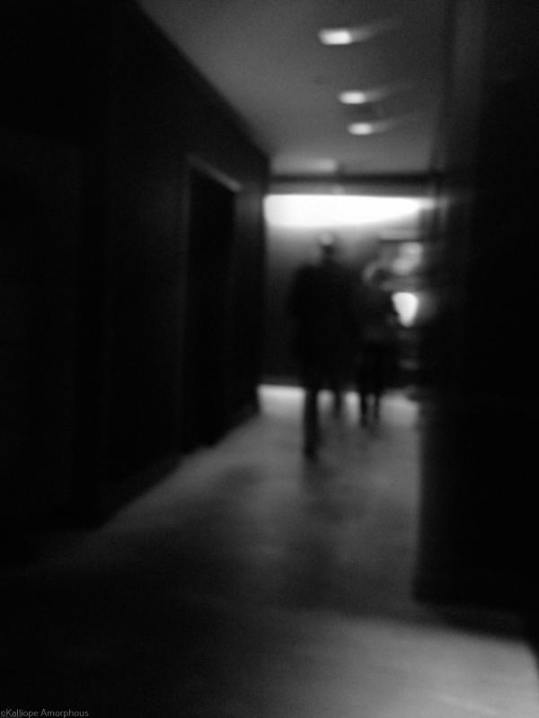 black snd white passage